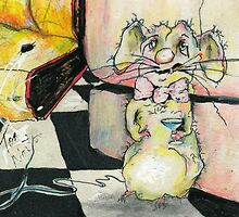 bowtie lester the rat by Tom Norton
