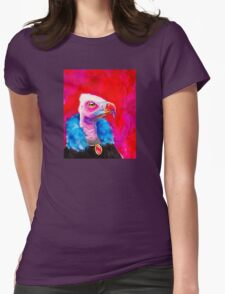 Victorian Vulture Womens Fitted T-Shirt
