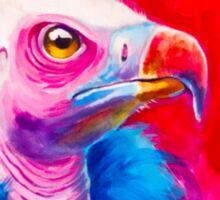 Victorian Vulture Sticker