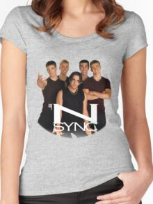 'N SYNC ('90s Edition) Women's Fitted Scoop T-Shirt