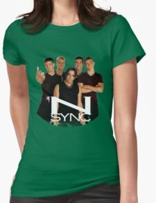 'N SYNC ('90s Edition) Womens Fitted T-Shirt