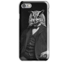 Owl Inventor iPhone Case/Skin