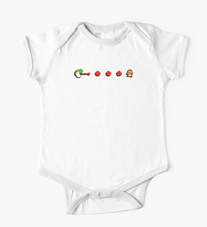 Pac-Yoshi's Healthy Appetite One Piece - Short Sleeve