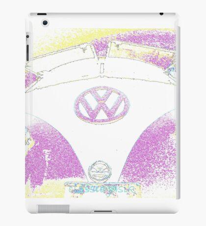 Pink  VW Bus iPad Case/Skin
