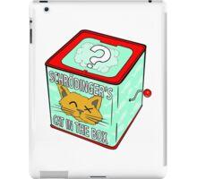 Schrödinger's Cat in the Box iPad Case/Skin