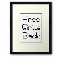 Free Sirius Black  Framed Print