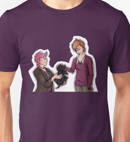 Tonks, Remus, Puppy Unisex T-Shirt