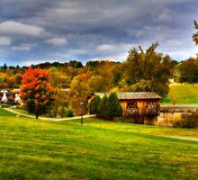 The Kissing Bridge-Ticonderoga by BigD