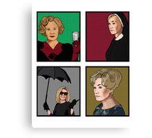 American Horror Story: Jessica Lange Canvas Print