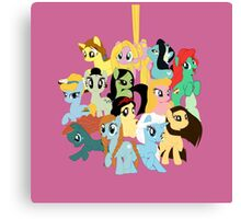 Pony Princess Collection Canvas Print