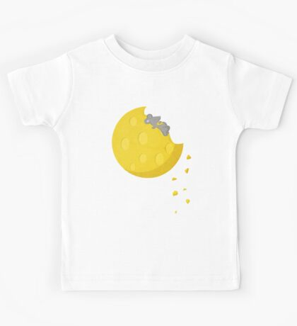 """""""If I could take a mouse to the moon…"""" Kids Tee"""