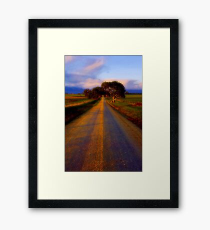 """Road to Buckley"" Framed Print"