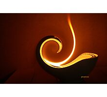 wave of light Photographic Print