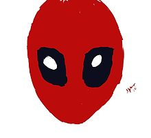 Deadpool mask  by Sylvestersimage