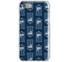 Whovian Print iPhone Case/Skin