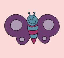 Fluttery Butterfly One Piece - Long Sleeve
