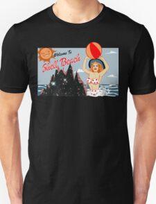 Dark City Shell Beach Unisex T-Shirt
