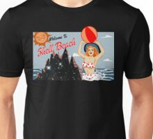 Dark City Shell Beach Unisex T-Shirt