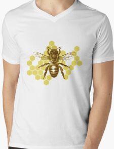Bumble Hive Mens V-Neck T-Shirt