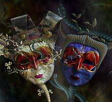 The Good Mask and the Evil Mask by Cornelia Mladenova