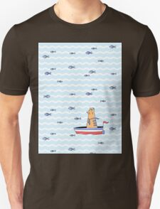 Salty sailor cat. Unisex T-Shirt
