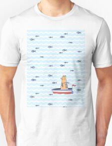 Salty sailor cat. T-Shirt