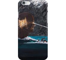 The projection of thought and mind on reality iPhone Case/Skin