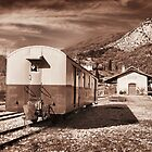 Provence Mountain Train Station... by jean-louis bouzou