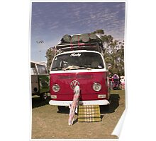 Kombi Travels Poster