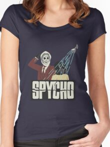 Spycho Women's Fitted Scoop T-Shirt