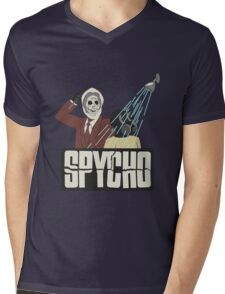 Spycho Mens V-Neck T-Shirt