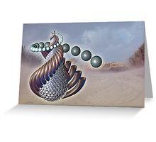 Thru Metamorphic Rocks Greeting Card