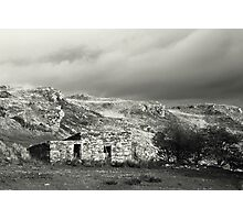 Stone hut, rural Ireland Photographic Print