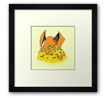 I am FIRE-type, I am DEATH! Framed Print