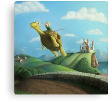 Flight of the Golden Turtle Canvas Print