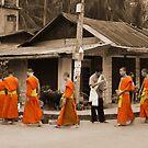 Monk Row by brettus