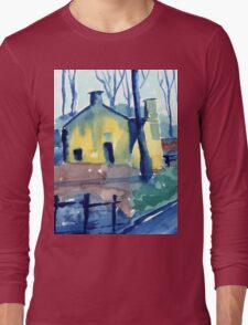 Lumsdale Mills Matlock Derbyshire Long Sleeve T-Shirt