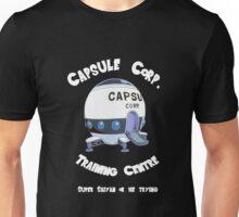 Capsule Corp. Training Centre (White Text) Unisex T-Shirt