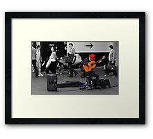 passers by.......... of Passion Framed Print