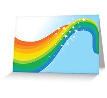 Sparkle Rainbow Greeting Card