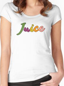 "Chance The Rapper's ""Juice"" Women's Fitted Scoop T-Shirt"