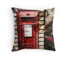 on the wings of lost love Throw Pillow