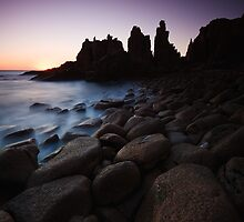 The Pinnacles by Andrew Widdowson
