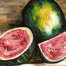 Watermelon by Pamela Plante