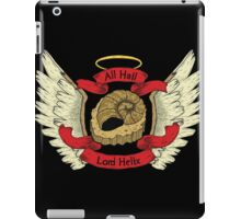 Hail Lord Helix iPad Case/Skin