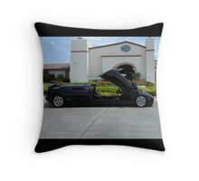 Lambo Limo Throw Pillow