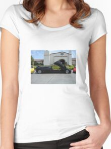 Lambo Limo Women's Fitted Scoop T-Shirt