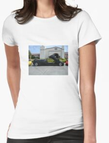 Lambo Limo Womens Fitted T-Shirt