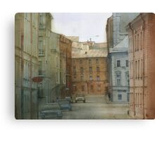 St. Petersburg' street Canvas Print