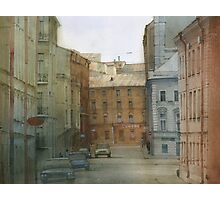 St. Petersburg' street Photographic Print